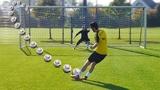 ULTIMATE PENALTY SHOOTOUT w/ Nuri Sahin (Borussia Dortmund)