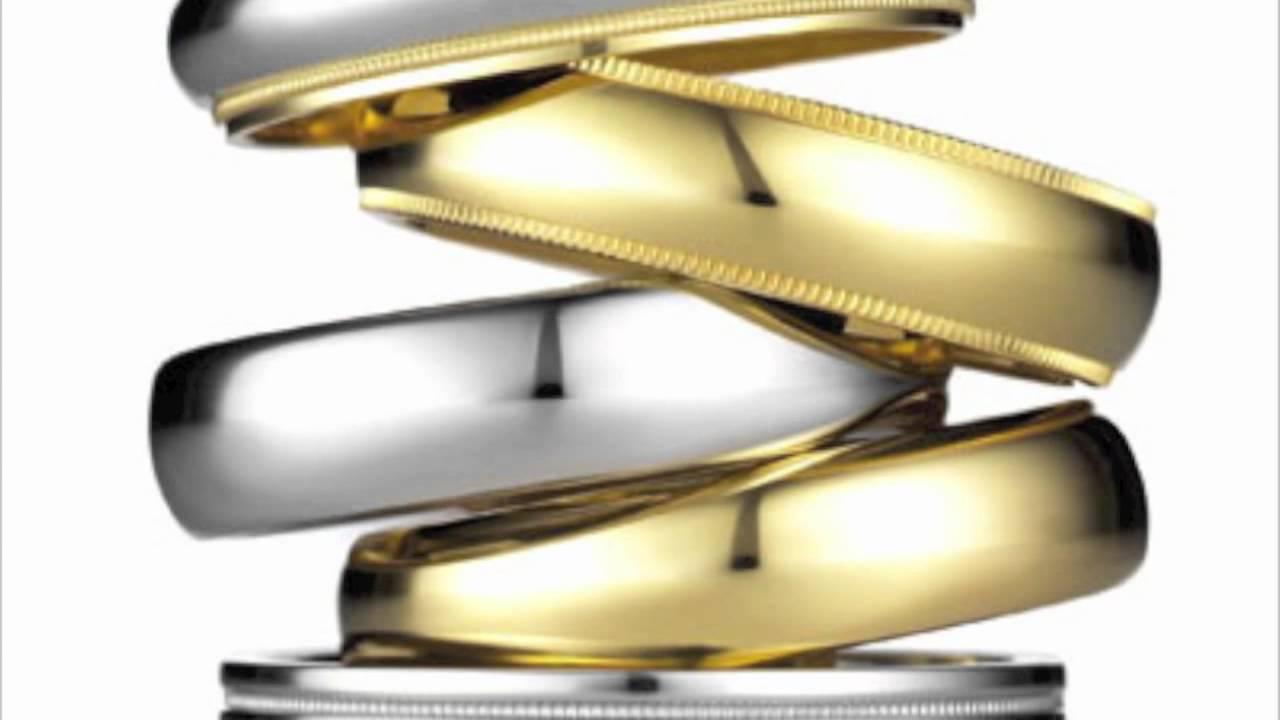 Platinum Wedding Bands in Dubai at KYRA Gold Diamond Park YouTube