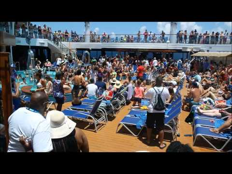 Carnival Triumph Cruise August 10-15, 2015 Live Events