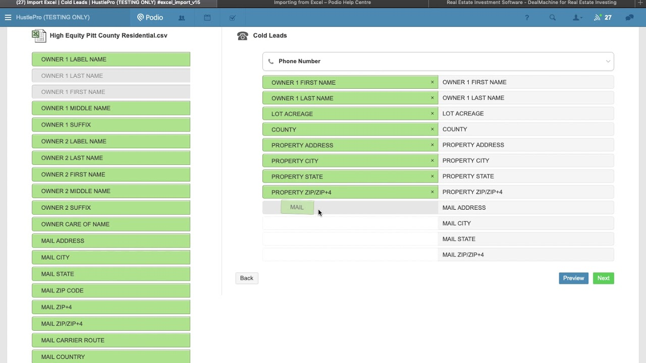 Importing Listsource Leads Into Podio