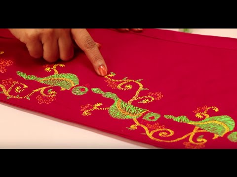 Give Your Pants A Stylish Twist With Liquid Embroidery Youtube