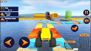 US Monster Truck Driving Impossible Truck Stunts - 4x4 Truck Games - Android Gameplay FHD