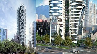 The Butterfly In Downtown Vancouver - Discover The Canadian Condo Skyscaper Inspired By A Butterfly