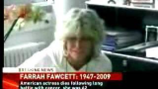 Actress Farrah Fawcett Homage