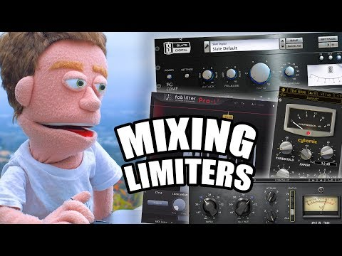 Mixing Multiple Limiters (Gain Staging in Ableton)