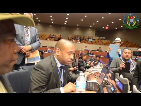 West Papua Melanesia Statement in United Nations 21 April 2015