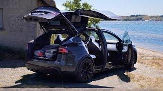 Tesla Model X: Wie praktisch ist es im Alltag?