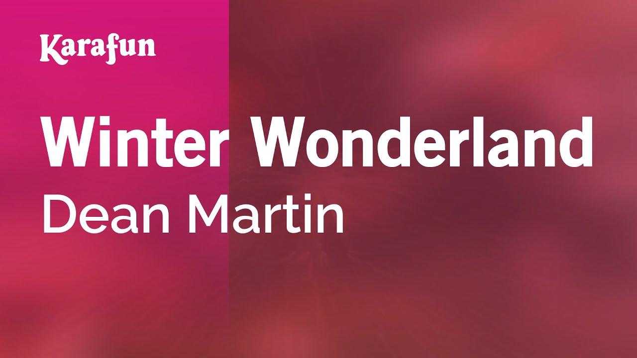 Christmas carol karaoke winter wonderland download free karaoke.