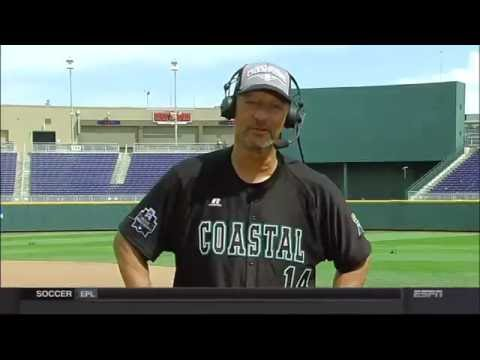 Coastal Carolina head coach Gary Gilmore on SportsCenter after national title win