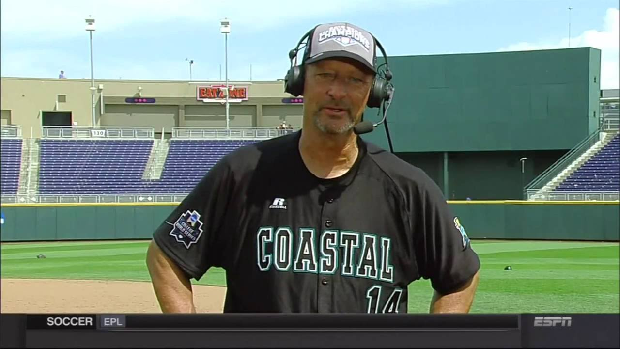 Coastal Carolina head coach Gary Gilmore on SportsCenter after national  title win
