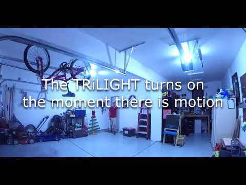 Super Bright Led Trilight Motion Activated Garage Ceiling