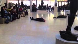 """""""Cliffs"""" by Aphex Twin, a flash mob performance at the Met"""
