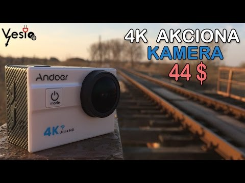 Andoer 4K akciona kamera za 44$ review i test