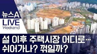 설 이후 주택시장 어디로…쉬어가나? 꺾일까? | 뉴스A LIVE