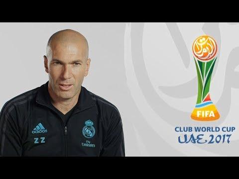 Entrevista a Zidane sobre el Mundial de Clubes 2017   Real Madrid TV