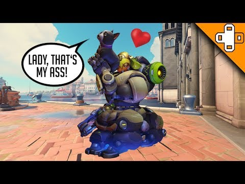 Orisa Loves Dog Butt - Overwatch Funny & Epic Moments 728 thumbnail
