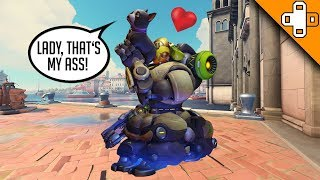 Orisa Loves Dog Butt - Overwatch Funny & Epic Moments 728
