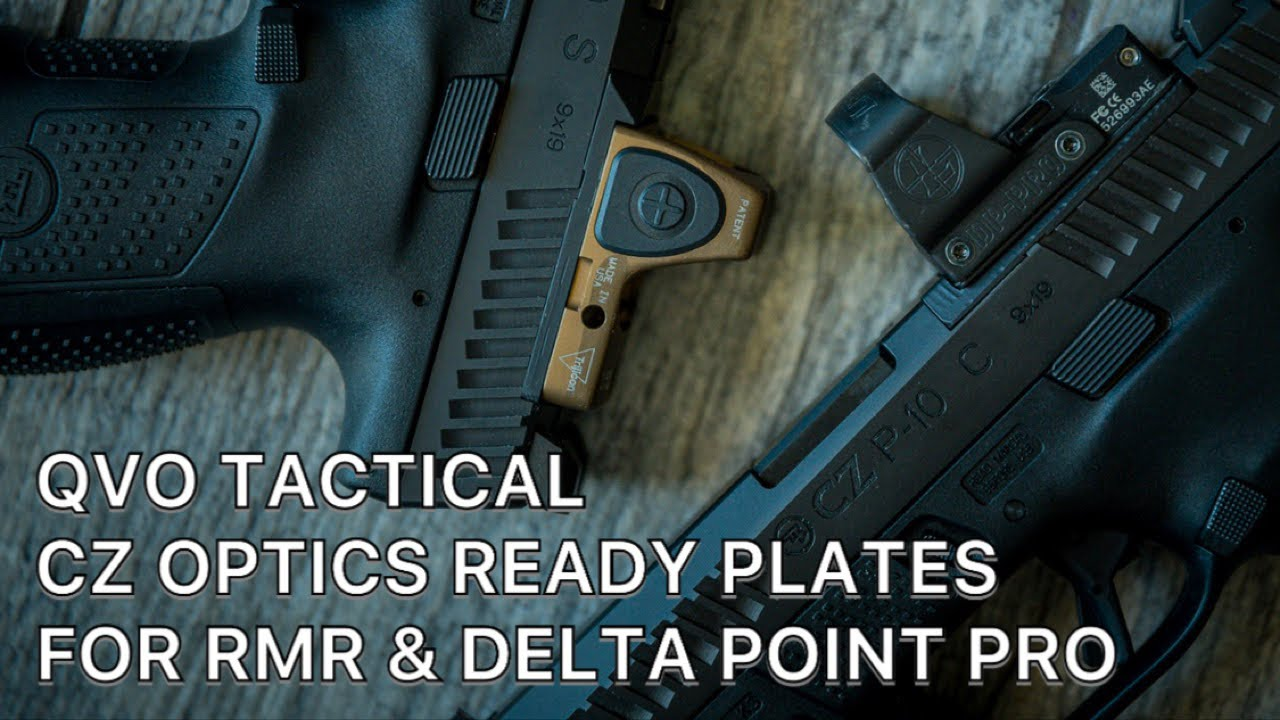 QVO Tactical CZ Optics Ready Plate (RMR)