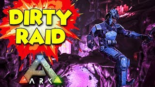 GETTING RAIDED at 4am - ARK Aberration Duo Survival Series #7