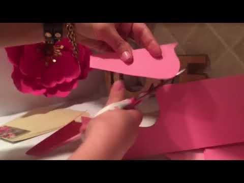 Cómo Hacer Moldes para Flores de Papel Yuliana parte 2