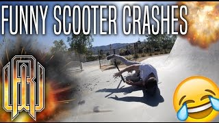 FUNNY SCOOTER CRASHES VIDEO!