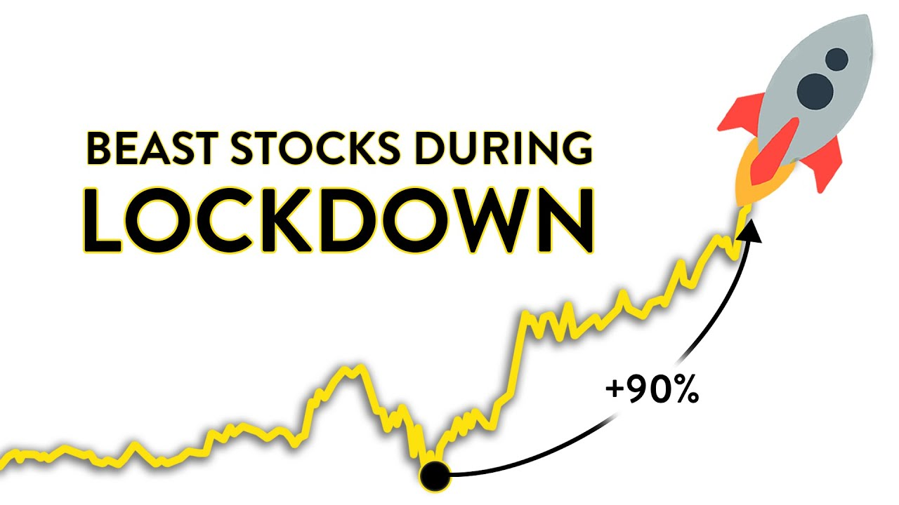 3 Stocks UP BIG During the Lockdown