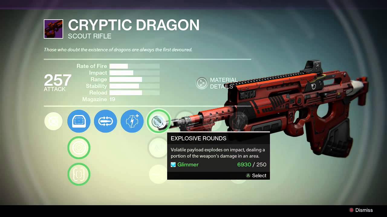 Destiny thorn exotic hand cannon memes