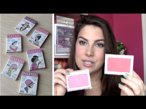 The Balm Instain Blush Review!