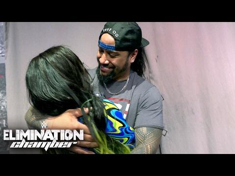 New SmackDown Women's Champion Naomi celebrates her victory: Exclusive, Feb. 12, 2017