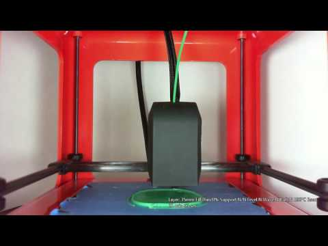 M3D Yoda Buddha Time Lapse - .35mm w/ Thin Walls
