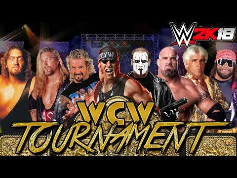 WWE2K17 - WCW World Heavyweight Championship Tournament Roun
