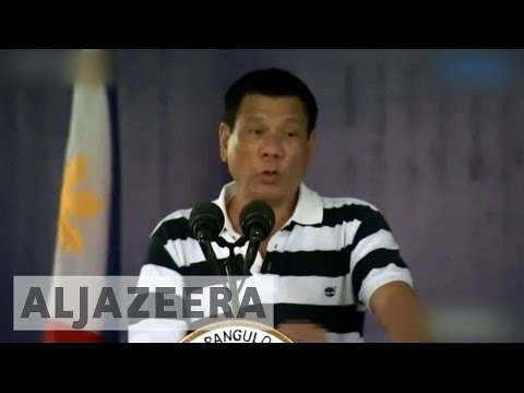 Philippines drug war: Duterte does not want interference