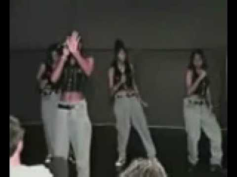 Destiny's Child singing before they were famous