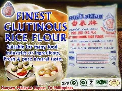 Finest glutinous rice flour hanyaw malaysia export to philippines finest glutinous rice flour hanyaw malaysia export to philippines youtube ccuart Images
