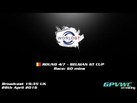 GPVWC 2016 - World GT Series - Round 4: Belgium