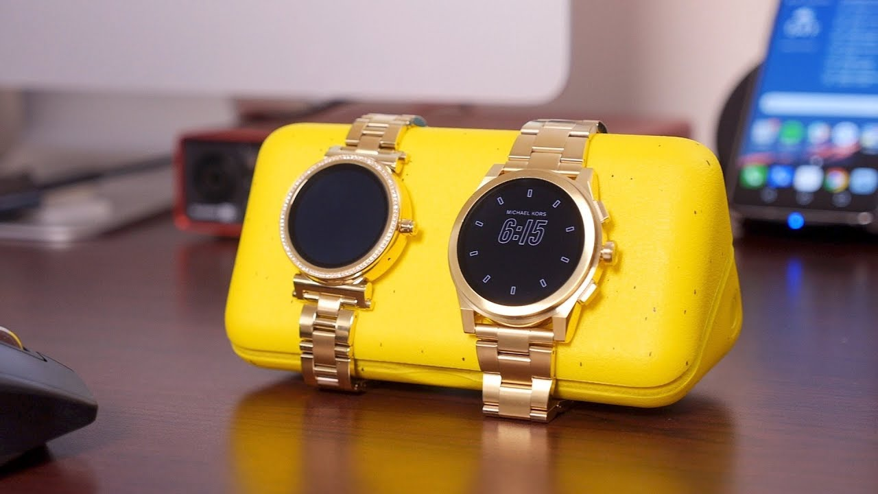 e05825949832d Michael Kors Access Sofie and Grayson review - YouTube