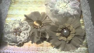 For my crafty friends Vintage-Shabby Flowers for Evy