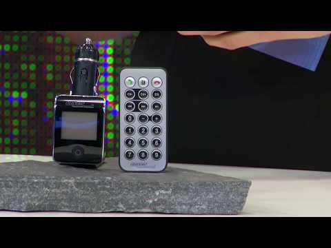 auvisio Bluetooth-Freisprecher mit FM-Transmitter FMX-550.BT v.2 KFZ