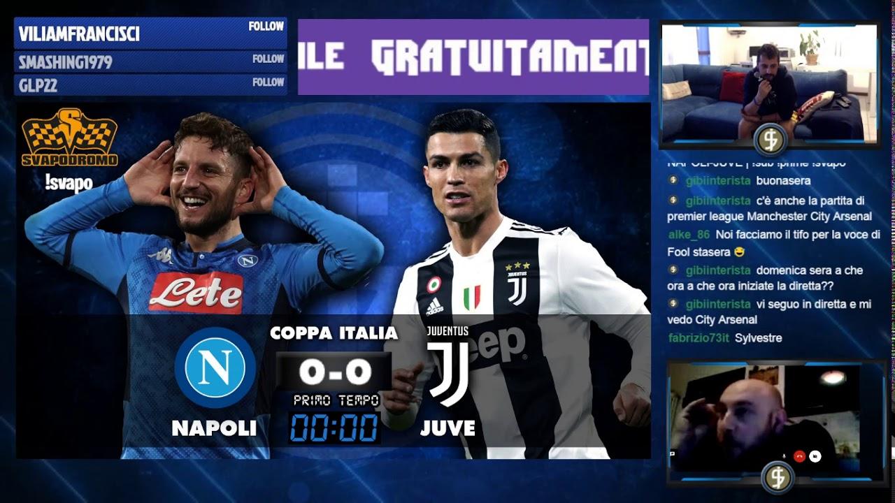 Finale Coppa Italia Napoli Juve Sub Prime Svapo Youtube