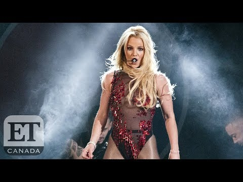 Britney Spears Rushed Onstage by Fan in Scary Moment