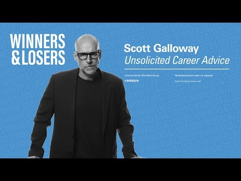 Prof Galloway's Career Advice