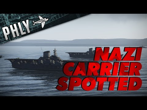 War Thunder Ships- German Aircraft Carrier