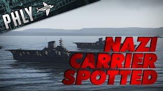 War Thunder Ships- German Aircraft Carrier