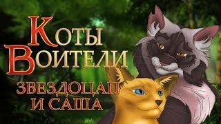 КОТЫ ВОИТЕЛИ | Звездоцап и Саша. 1 серия. Озвучка манги.