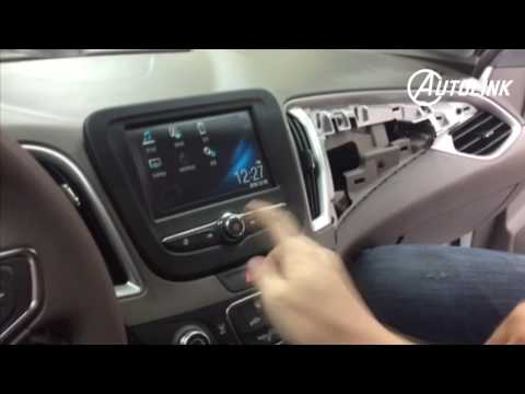 How to Remove Chevy New Malibu, Trax, Cruze  OEM IOA  Radio