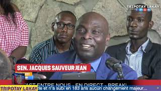 Senatè Jacques Sauveur Jean avili Reginal Boulos ak Prezidan Jovenel Moise