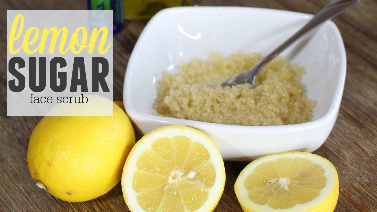 Simple Diy Lemon Face Scrub Youtube