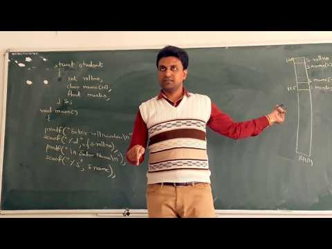 Pointer to Structure in C Programming Lecture 36