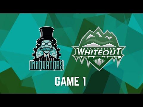 Detroit Innovators vs. Rochester Whiteout - Game 1