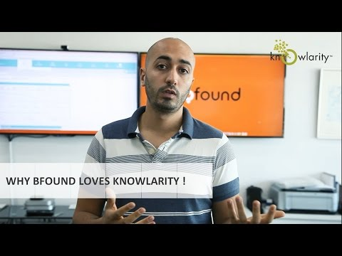 Why Bfound, UAE's largest and most accurate local search platform, loves Knowlarity! (English)